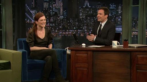 Description: Julianne Moore tells Jimmy how she learned to do a Boston ...