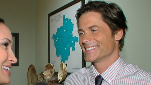 Rob Lowe Will Be &#39;More Insane&#39; On &#39;Parks &amp; Recreation&#39; Video