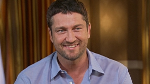 Gerard Butler On the Edge of His Seat for 'Law Abiding Citizen' Video