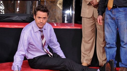 Robert Downey Jr. Cements His Place in Hollywood Video