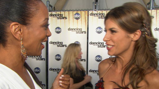 Did Elisabetta Canalis Almost Have a 'Dancing' Wardrobe Malfunct Video