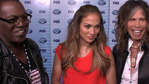 Jennifer Lopez, Steven Tyler & Randy Jackson Talk 'American Idol Video