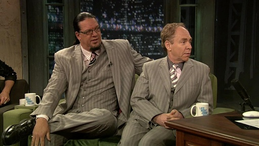 [Penn and Teller Interview]