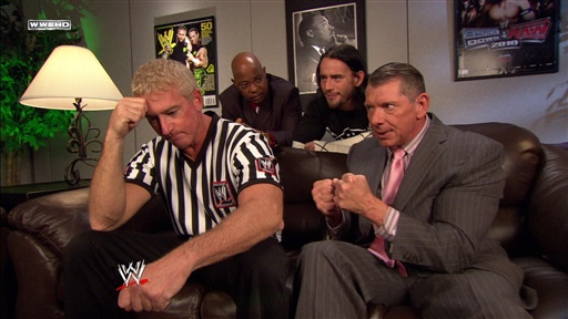 Theodore Long, CM Punk, Scott Armstrong and Mr. McMahon Talk Abo Video