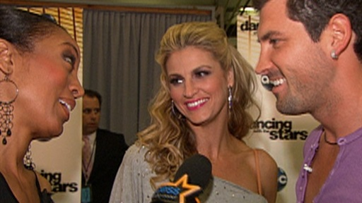 [Erin Andrews on 'Dancing': I Want to Be in the Finals] Video