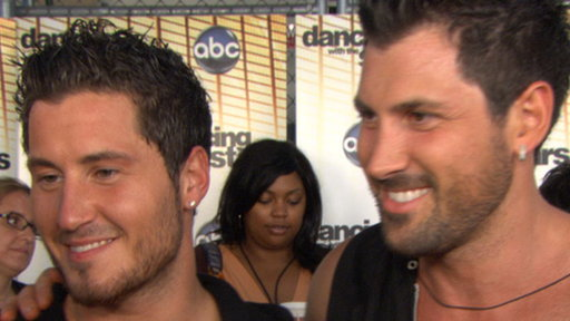Chmerkovskiy Brothers' Ballroom Battle On 'Dancing' Video
