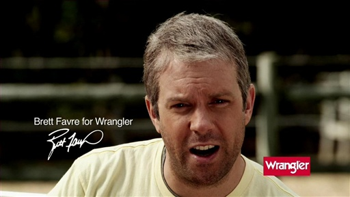 Brett Favre Wrangler Commercial Video