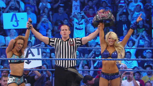 Divas Champion Kelly Kelly & AJ vs. Alicia Fox and Natalya Video