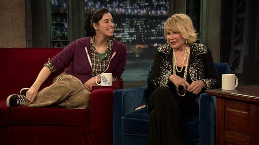 Talking Comedy with Joan and Sarah Video