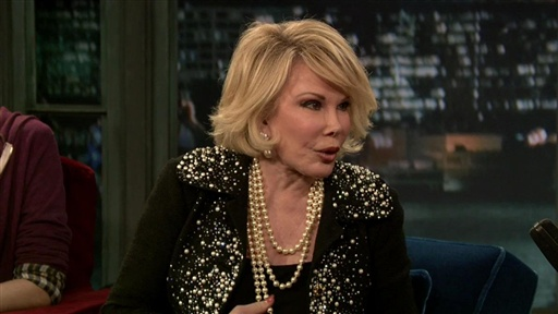 Joan Rivers Talks Mother's Day Video
