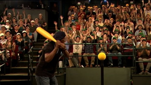[Home Run Derby With Samuel L. Jackson]