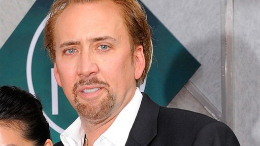 Nicolas Cage Hits &#39;the Sorcerer&#39;s Apprentice&#39; Premiere, New York Video