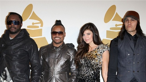 2009 Grammy Noms: Black Eyed Peas - 'It's Great to Be Nominated' Video