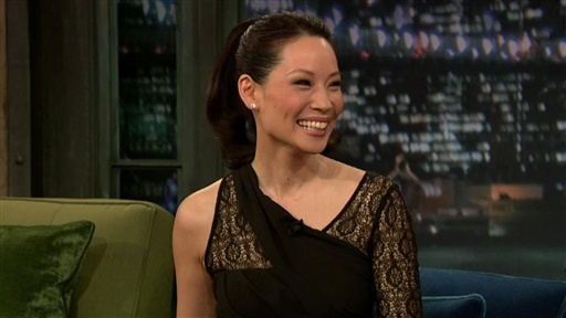 [Lucy Liu Interview] Video