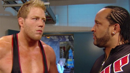 "Jack Swagger Challenges MVP to an ""All-American American"" Challe Video"