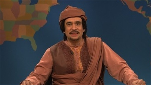 Weekend Update: Moammar Gadhafi Video