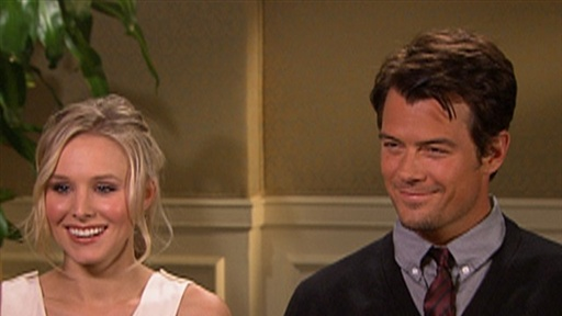 Kristen Bell and Josh Duhamel's Romance in 'Rome' Video