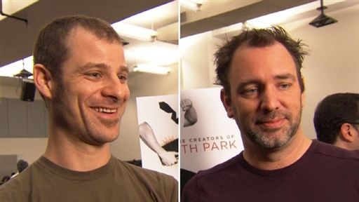 Trey Parker & Matt Stone Talk Bringing 'The Book of Mormon' to B Video