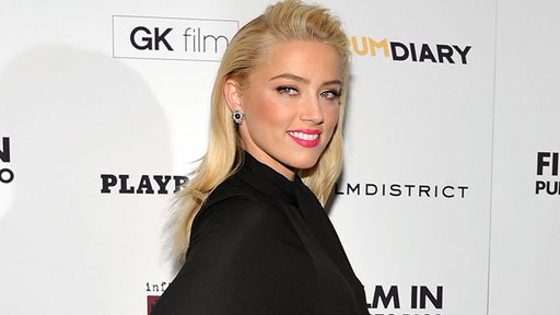 [Amber Heard: 'Rum Diary' Was a 'Dream Job']