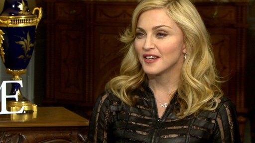[Madonna Reacts to Her Two 'W.E.' 2012 Golden Globe Nods]