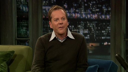 Kiefer Sutherland: Hockey and French Lessons Video