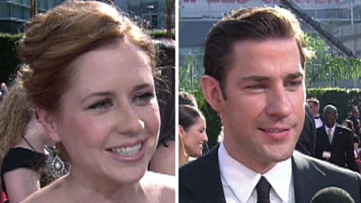 John Krasinski and Jenna Fischer Spill Details On Pam&#39;s &#39;Office&#39; Video