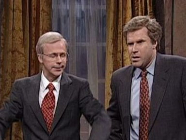 George W. and George Sr. Cold Open Video