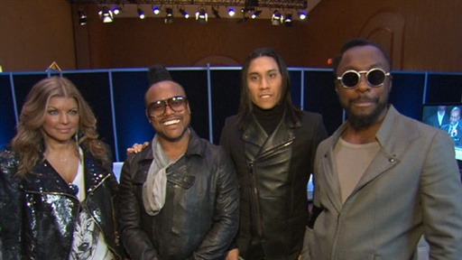 [The Black Eyed Peas Are 'Honored' to Perform at the Super Bowl X]