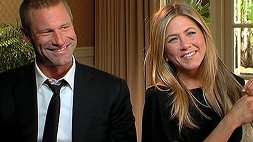 Jennifer Aniston & Aaron Eckhart: 'Love' Is In The Air Video