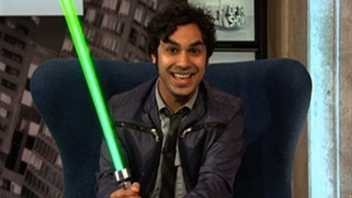 "[Kunal Nayyar from ""The Big Bang Theory""]"