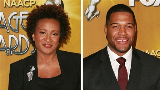 [Wanda Sykes & Michael Strahan 'Honored' Over 41st NAACP Image Aw]