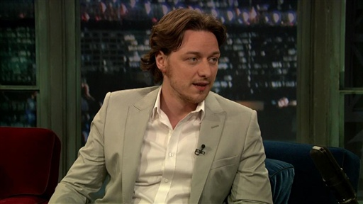 James McAvoy Video