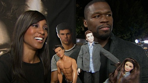 'New Moon' LA Premiere: 50 Cent - 'I'm Excited' to See the Movie Video