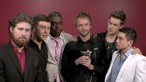 [Backstage With the 'American Idol' Top 11: The Guys Discuss Thei]