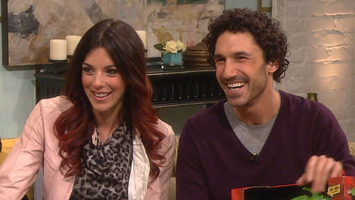 Ethan Zohn &amp; Jenna Morasca Talk Battling Cancer a Second Time Video