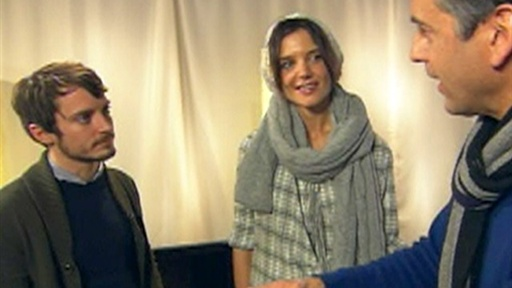 [2010 Sundance Film Festival: Katie Holmes and Elijah Wood On 'th]