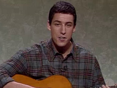 Adam Sandler's Thanksgiving Song Video