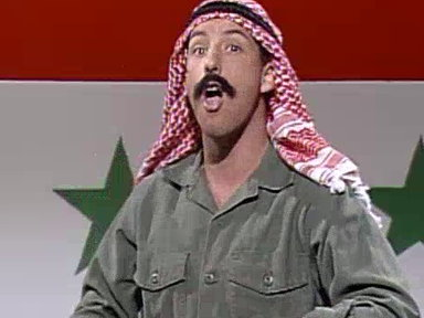 Adam Sandler As Iraqi Pete Video