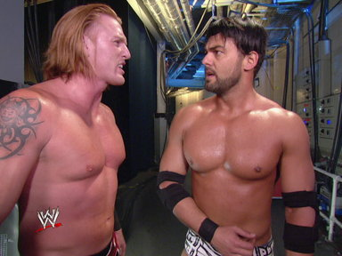 Justin Gabriel & Heath Slater confront Ezekiel Jackson Video