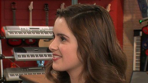 Laura Marano Having a Blast On 'Austin & Ally']
