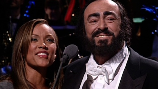 [Pavarotti and Vanessa Williams]