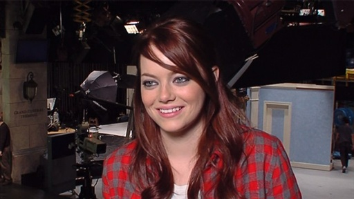 [Is Emma Stone Prepared for 'Spider-Man'?]