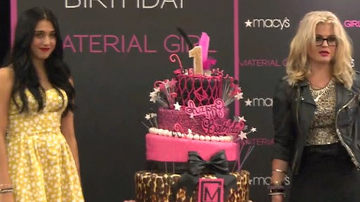 Lourdes Leon & Kelly Osbourne Celebrate Material Girl's 1st Birt Video