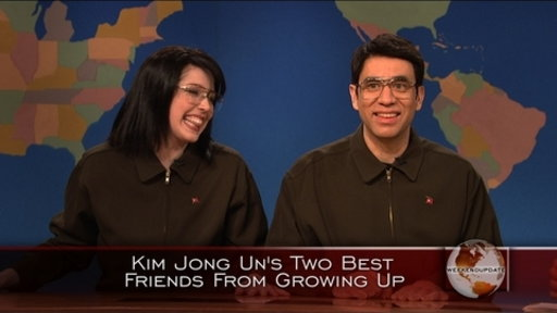 Weekend Update: Kim Jong Un&#39;s Best Friends Video