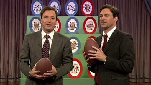 Jon Hamm: Football Poker Video