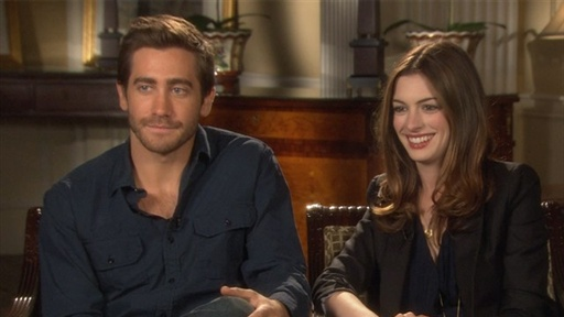 Jake Gyllenhaal and Anne Hathaway Address 'Love' Rumors Video