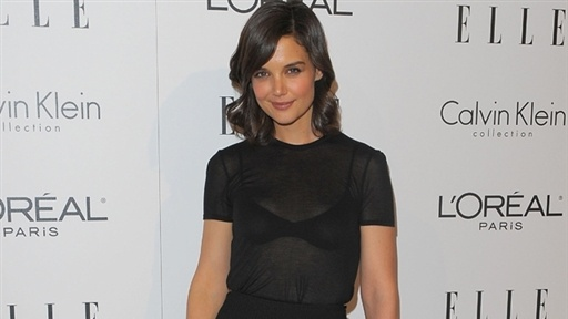Katie Holmes On Suri's Fashion and Tom's 'Knight and Day' Stunt Video