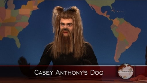 Weekend Update: Casey Anthony's Dog Video