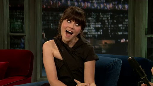 [Zooey Deschanel, Part 1]