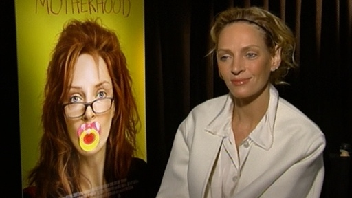 Uma Thurman On 'Motherhood' and 'Kill Bill 3' Video